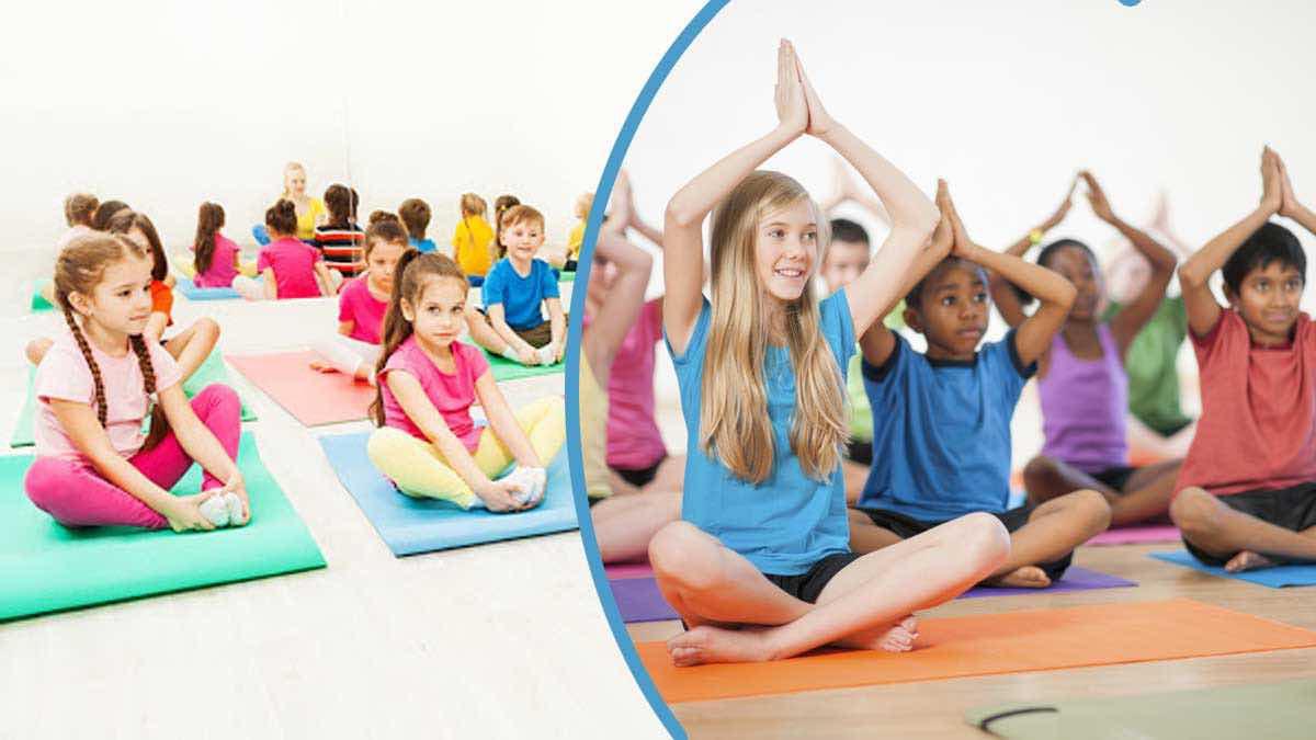 Les bienfaits du yoga pour les enfants.